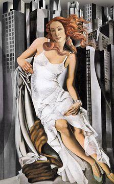 Wiedergeburt der Venus bei Art-Deco 2020 von Jerome Coppo