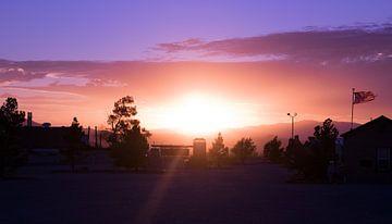 Neveda sunset van Tashina van Zwam