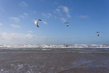 Kitesurfen met meer personen
