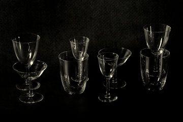 het glaswerk uit mijn ouderlijk huis van Hanneke Luit