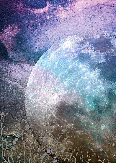 MOON under MAGIC SKY I-A van Pia Schneider