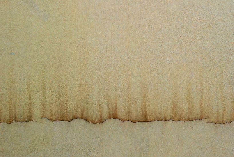 Gordijn van muur van Annemie Hiele