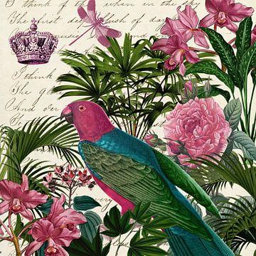 In de tuin van de koningin van christine b-b müller