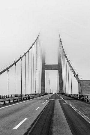storebaltsbrug Denemarken von Marlies Wolfert