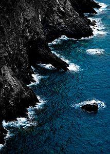 Blauwe kust van
