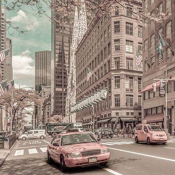MANHATTAN 5th Avenue | urbaner Vintage-Stil von Melanie Viola