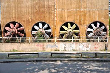 Colorful ventilators von Arthur Wijnen