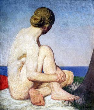 Der Betrachter, George Clausen (1927-1928) von Atelier Liesjes