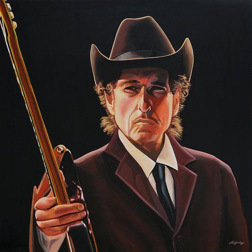 Bob Dylan schilderij 2