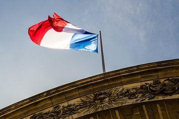 The French flag von