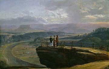 Blick von der Bastei, Johan Christian Dahl