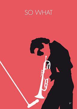 No082 MY Miles Davis Minimal Music poster van Chungkong Art