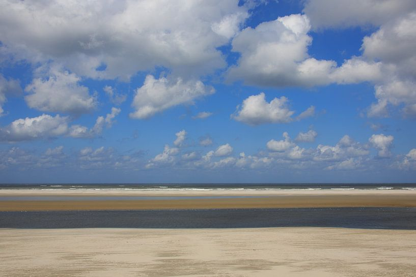 Strand stilleven van Anja Brouwer
