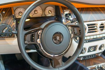 Rolls-Royce Dawn cabriolet intérieur luxueux sur Sjoerd van der Wal