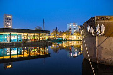Nieuwe middenpier aan de Tilburgse Piushaven  van