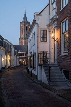Stadsgezicht Loenen aan de Vecht van Manuuu S