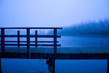 koude ochtend aan het water van Mark Nieuwenhuizen