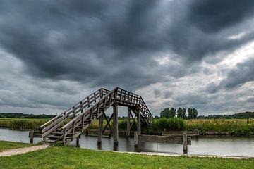 Traverser dans la tempête sur Dieverdoatsie Fotografie