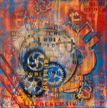 Crypto Art ChriBu van Christel De Buyser