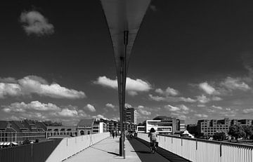 Hoge brug Maastricht van Leo Langen