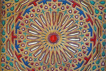 Altbewährtes Holzmuster, zeitgenössischer marokkanischer Stil von Nisangha Masselink