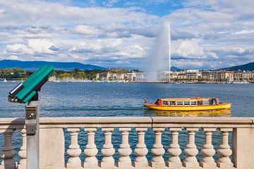 Taxi-navire Mouette à Genève sur le lac Léman sur Werner Dieterich