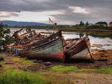 Oude schepen von Marjon van Vuuren