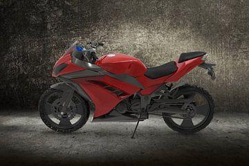 Sport_Motorbike_red van H.m. Soetens