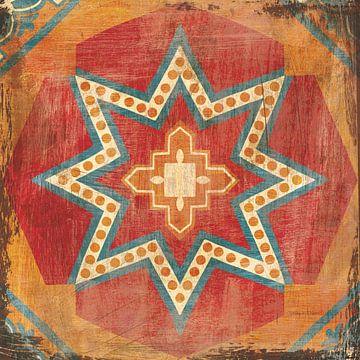 Marokkaanse tegels VII, Cleonique Hilsaca van Wild Apple