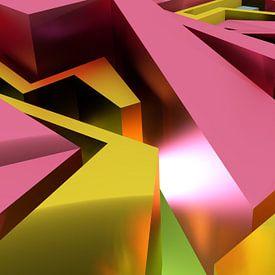 Tha Maze - Tez #1-3-2 van Pat 'Tez One' Bloom