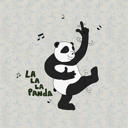 lalala panda van