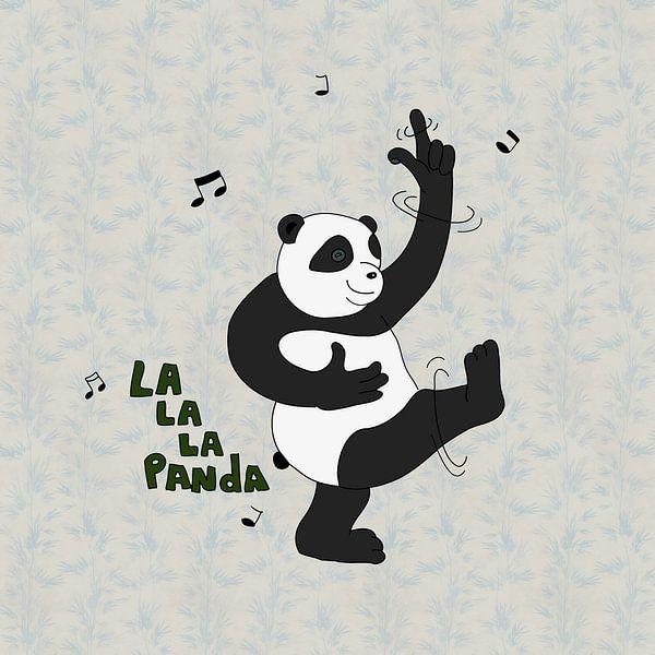 lalala panda van Dennis Michels