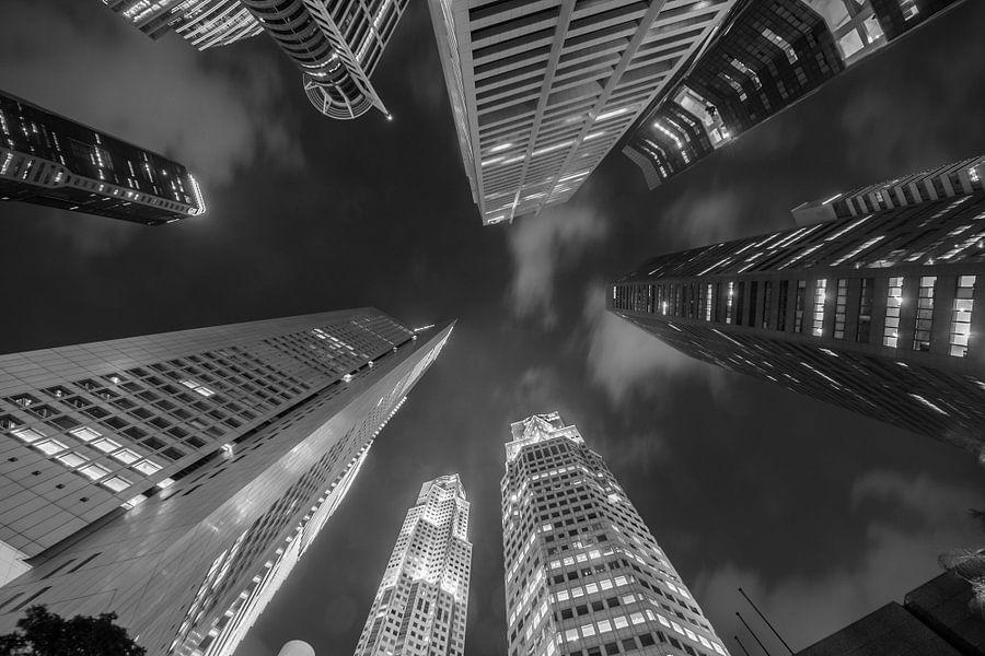 Het Central Business District van Singapore  van Juriaan Wossink