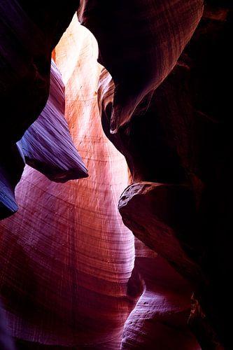 Antelope Canyon Purple van