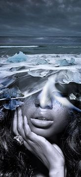 Ice river  sur