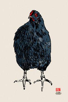 Huhn von Pieter Hogenbirk