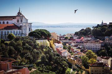 Lissabon – Igreja e Convento da Graça. von Alexander Voss
