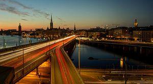 Stockholm - Guldgränd - Centralbron van Maarten de Waard