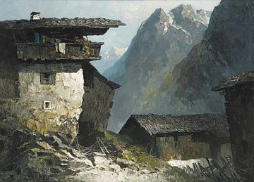 Berghof, OSKAR MULLEY, 1930 von Atelier Liesjes