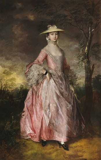 Mary Gravin Howe, Thomas Gainsborough...