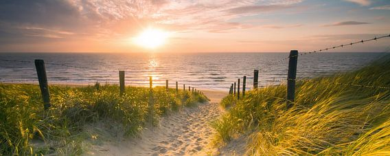 Strandaufgang von Nico Zwanenburg