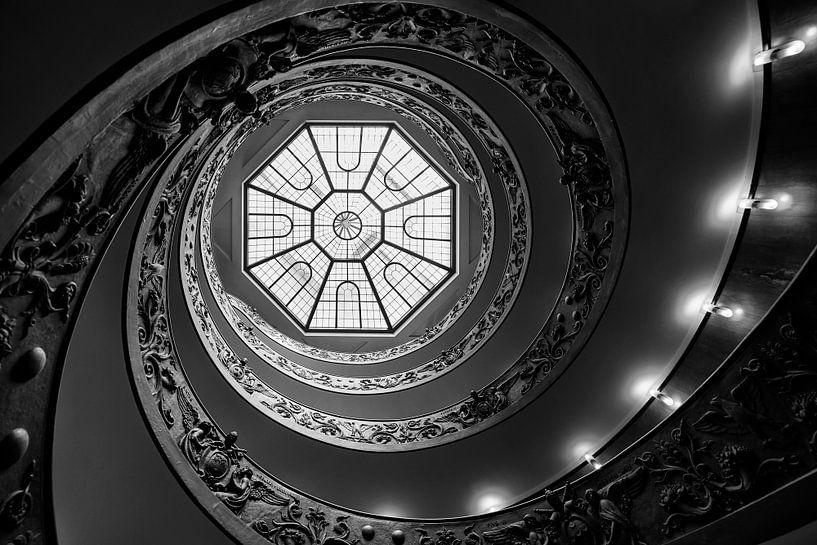 Vatican Stairs van Nico Garstman