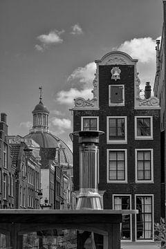 Doorkijkje vanaf de Herengracht van Peter Bartelings Photography