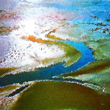 Prielwild in de Waddenzee van Dirk H. Wendt