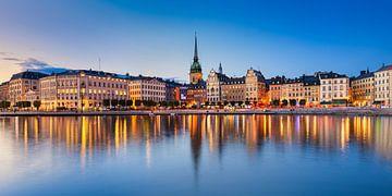 Gamla Stan in Stockholm van Michael Abid