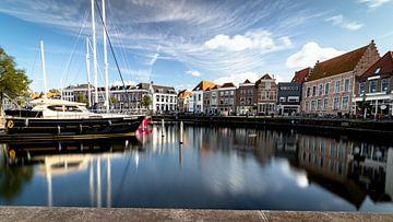 De stadshaven van Goes van Fotografie in Zeeland