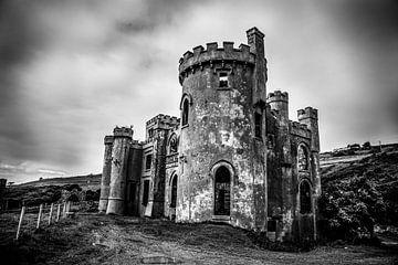 Le château de Clifden en noir et blanc sur Kim Claessen