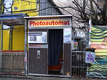 Oude foto cabines van Barbara Hilmer-Schroeer