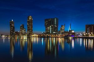 Rotterdam Skyline Wilhelminapier van