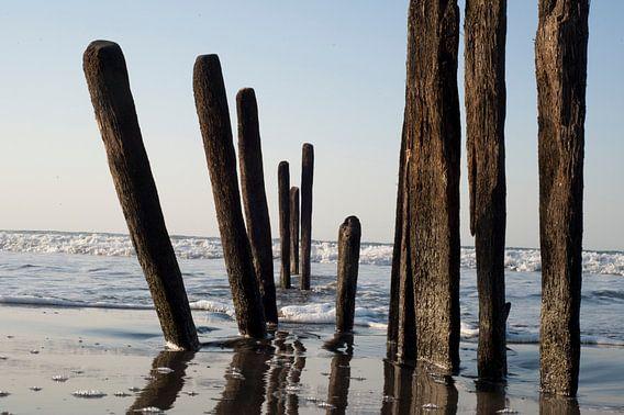 Gambia Beach 5 van Wijs & Eigen